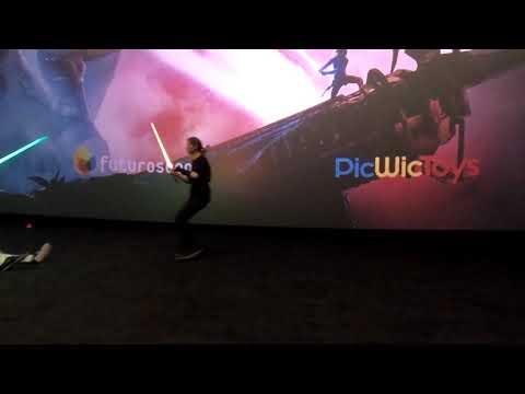 Démonstrations pour la sortie du film Star Wars IX
