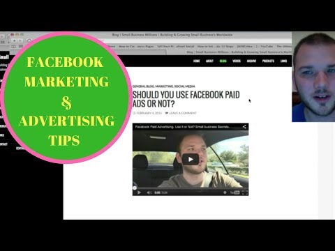 FREE Facebook Marketing & Advertising Tips & Tricks. Small Business Millions