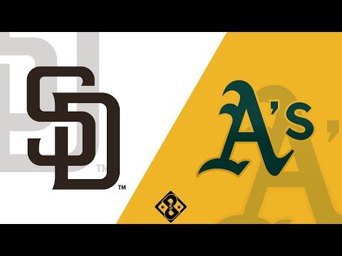 San Diego Padres at Oakland Athletics - Friday 9/4/20 - MLB Picks & Betting Predictions