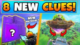 Fortnite Update: NEW MATERIAL & DUSTY RESTORED?! – 8 Clues/Theories ft. Battle Royale's Cube Island!