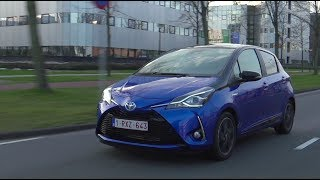 Toyota Yaris & Hybrid 2017, Blue-Red-White, Driving, Exterior Interior, Official Video