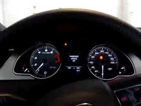 2008 Audi S5 Startup
