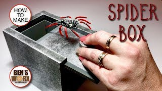 How To Make A Spider Scare Box