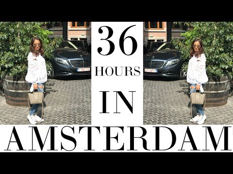 36 HOURS IN: AMSTERDAM | VLOG | Ambarina | Beauty Passionista