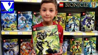 БИОНИКЛЫ МОНСТРЫ Умарака-Разрушителя.  LEGO BIONICLES Lava Beast, Storm Beast, Quake Beast