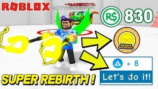 830$ ROBUX İLE EFSANE SUPER REBIRTH ! Magnet Simulator | Roblox Türkçe