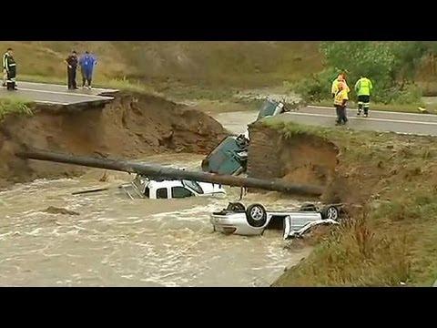 """В Колорадо """"наводнение века"""""""