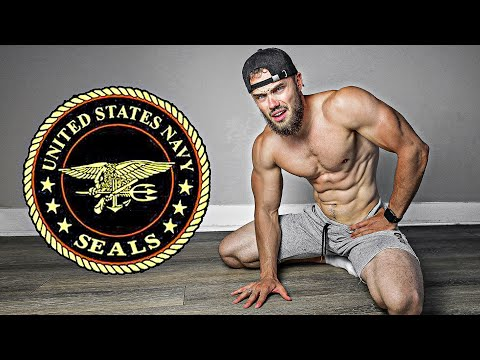 Russian Try the US Navy Seals Fitness Test without practice