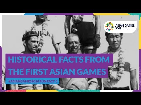 #AsianGames2018 Fun Fact 5 - Historical Facts From The First Asian Game