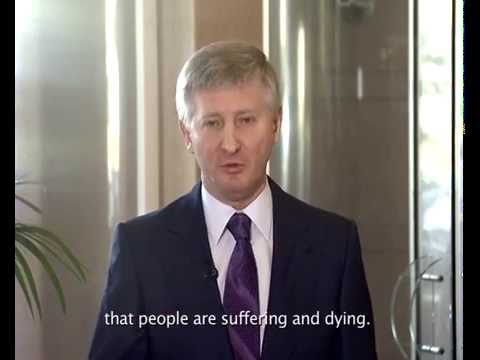 Rinat Akhmetov on peaceful resolution of the situation in Donbass