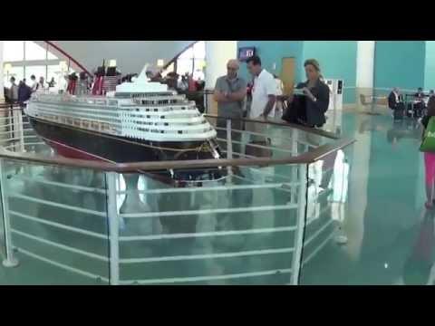Disney Fantasy Cruise 2015 - Eastern Caribbean - Day 1 - Embarking
