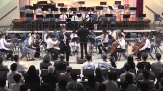 Wah Yan Symphonic Night 2014 - Mozart - Clarinet Concerto in A, K.622, Second Movement