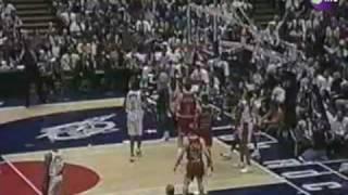 Chicago finally win in Houston! Bulls @ Rockets 1995-96