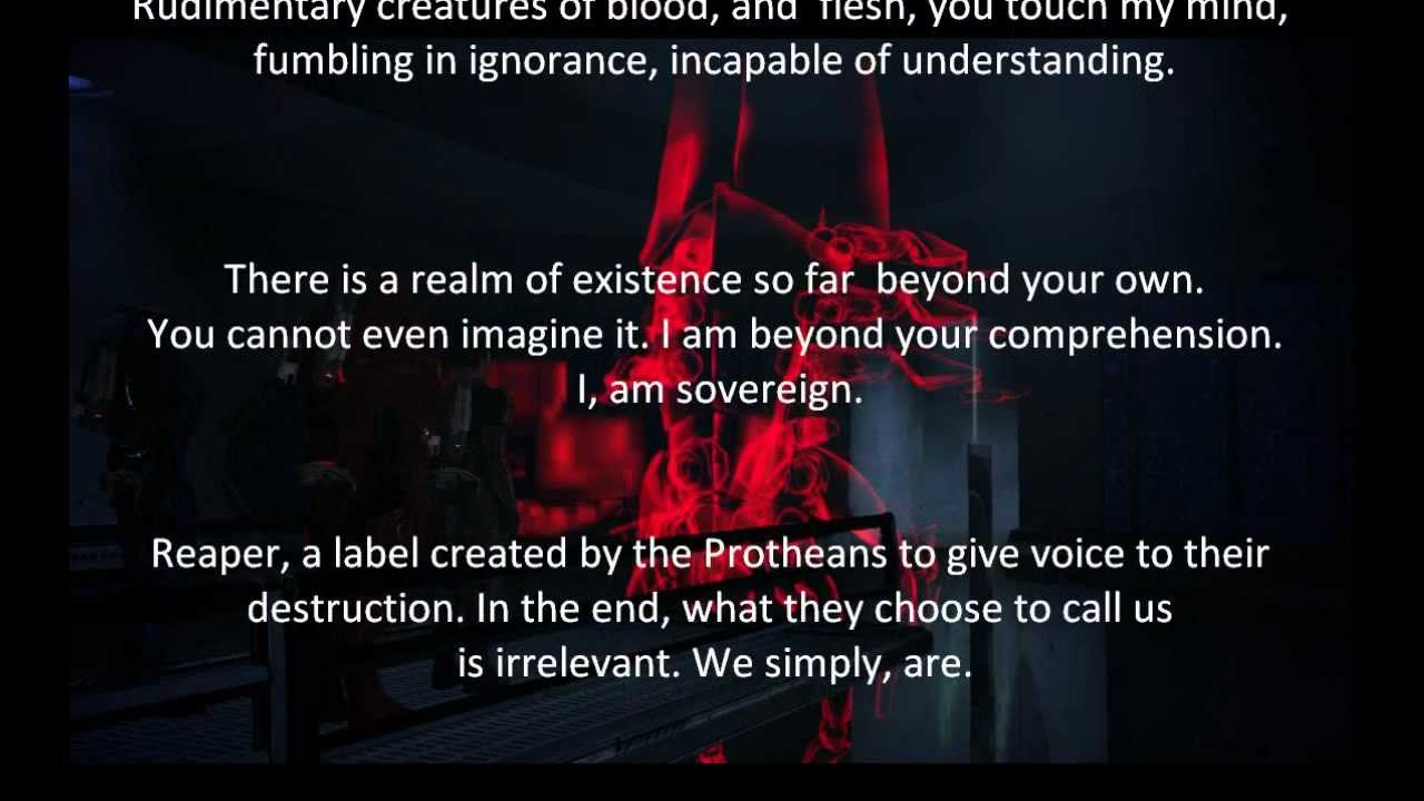 Make Own Quote Wallpaper Mass Effect Sovereign Conversation Youtube