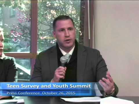 Teen and Youth Summit Press Conference