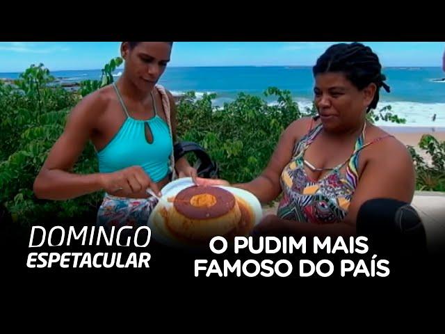 Achamos no Brasil mostra receita do pudim mais famoso do país