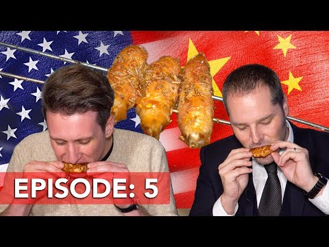 Eating Sheep Testicles at a Chinese BBQ in the USA!