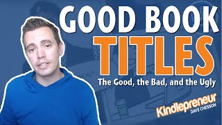 good book titles the good the bad and the ugly