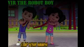 Clap Your Hands I Vir The Robot Boy I Kids Cartoon Rhymes