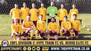 EBFL 2019/20 - Division 2 (Match 7): Hype Train FC vs. Berks Elite FC