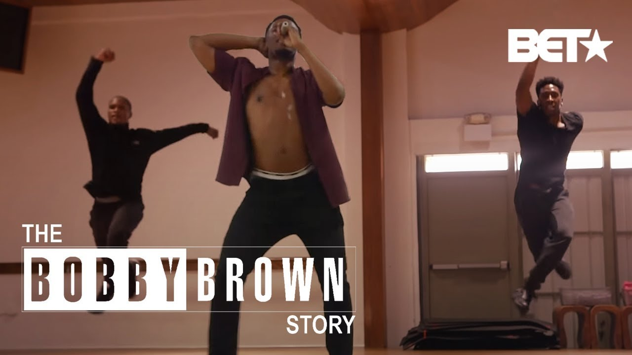 Watch Woody McClain Dope AF 'Every Little Step' Music Video Routine | The Bobby Brown Story