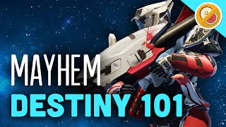 DESTINY 101 Crucible Tips and Tricks MAYHEM (PS4 Gameplay Commentary) Funny Moments
