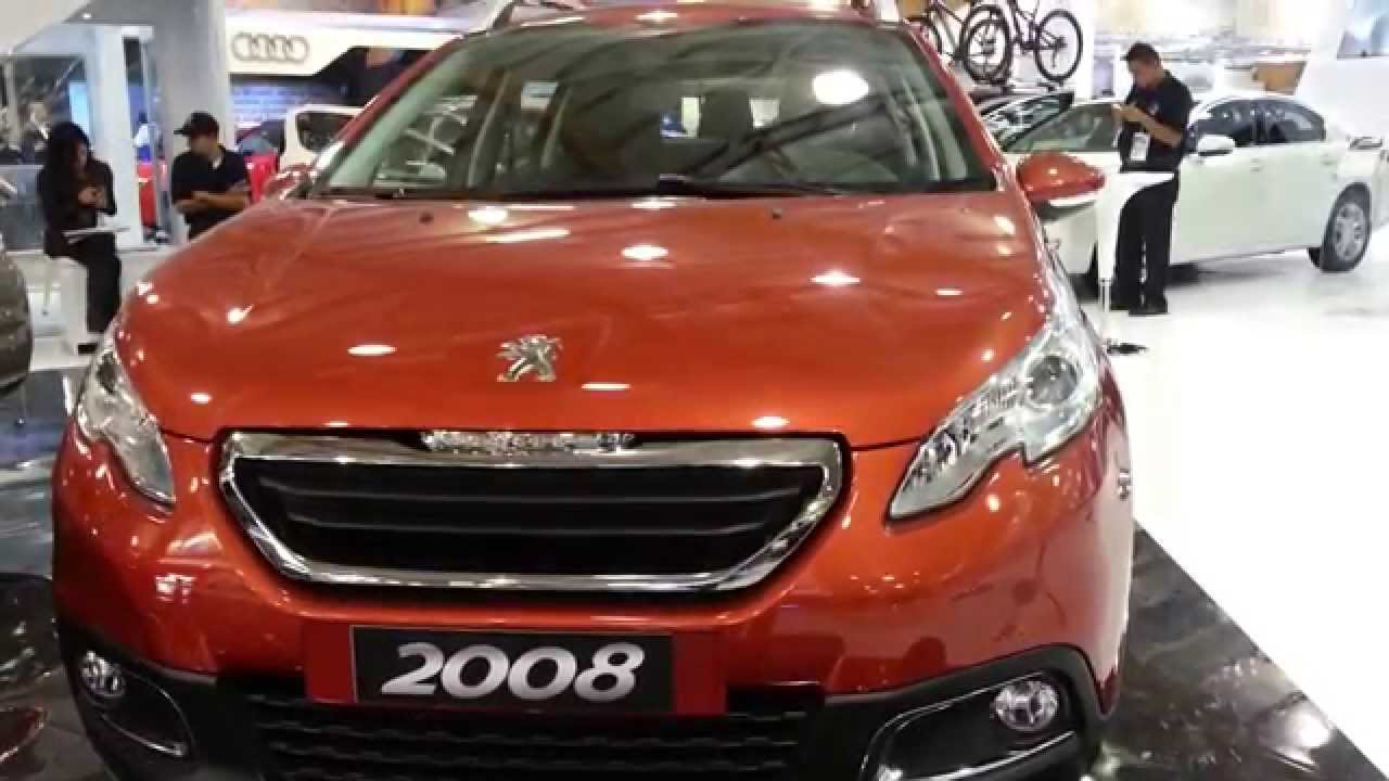 peugeot 2008 1 6 active 2015 video exterior colombia youtube. Black Bedroom Furniture Sets. Home Design Ideas