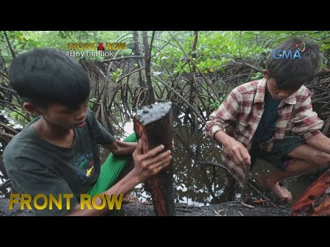 Front Row: Magkapatid na nangunguha ng woodworm para kumita, kilalanin