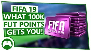 What 100K FIFA 19 Points Gets You In Packs On Xbox One!