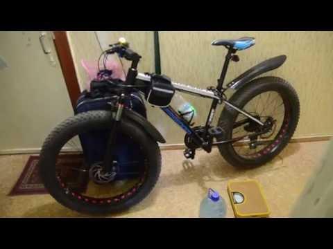 Сколько килограмм весит Велосипед Фэтбайк с алиэкспресс, взвешиваем фэтбайк