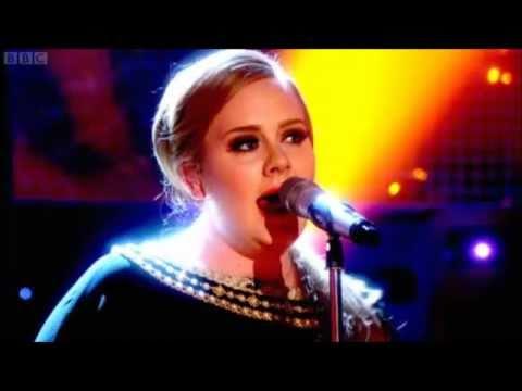 Adele Set Fire To The Rain Live On The Graham Norton