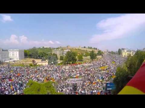 Protest in Skopje Macedonia 2015