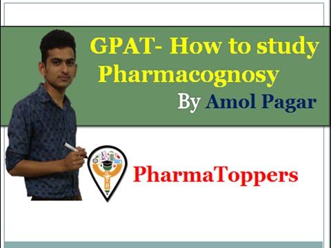 How to study Pharmacognosy for GPAT