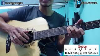 Bài 14: Hướng dẫn Guitar điệu Bebop bài Quê Hương Tôi