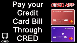 How to 🔥Pay Credit Card Bill through CRED App || Free Rewards just to Pay Credit Card Bills!