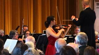 Aldis Elfarsdottir - Tchaikovsky Violin Concerto in D Major, Op. 35 (first movement part 2)