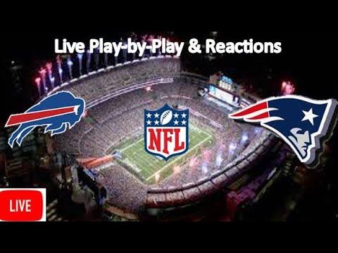Buffalo Bills Vs. New England Patriots Live Stream | Live Play-by-Play, Reaction | NFL
