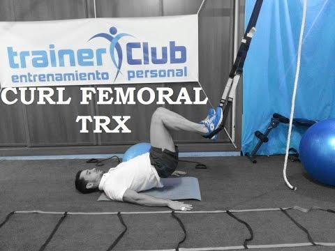 Curl femoral TRX