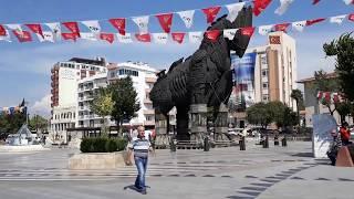Турция, Мраморное море, Чанаккале, Троянская война,Троянский конь (Июнь 2018)