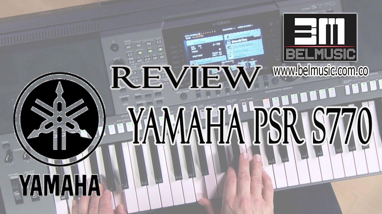 Yamaha psr s770 review calidad de los sonidos youtube for Yamaha psr s770 review