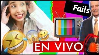 FAILS INCREIBLES DE TELEVISION EN VIVO !! ♡ Darita