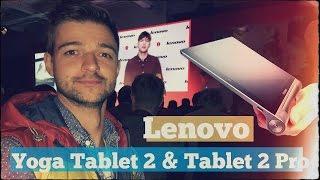 Быстрый обзор Lenovo Yoga Tablet 2 & Tablet 2 Pro