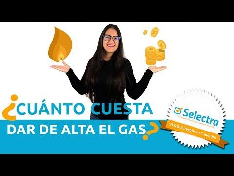 ¿Cuánto cuesta dar de alta el gas natural?
