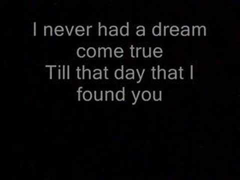 Never had a dream come true (lyrics)