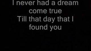 Never had a dream come true (lyrics)