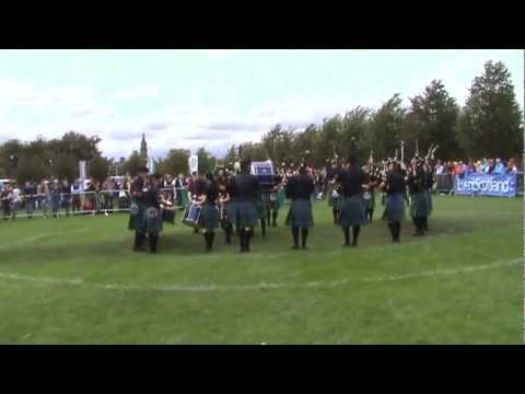 World Pipe Band Championships - Islay Pipe Band