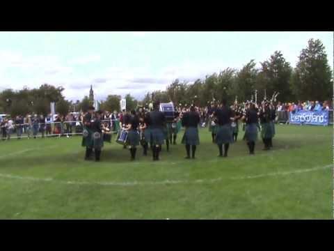 World Pipe Band Championships - Islay Pipe Band