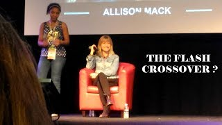 ALLISON MACK on appearing in THE FLASH Crossover and Inside Of You with Michael Rosenbaum