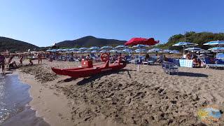 Camping Village Baia Azzurra Club a Castiglione della Pescaia in Toscana - Video Drone