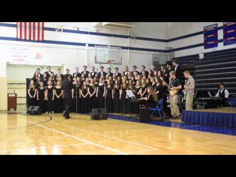 The Saint Viator Choir Fine Arts Assembly 2015